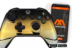 Chrome BGS Smart Rapid Fire Custom Modded Controller for Xbox One S Mods FPS