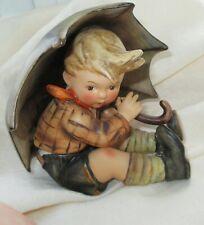 Hummel Figurine 1958 Umbrella Boy #152/0/A TMK-3 Book Value $600+  RARE MINTY!