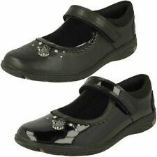 Girls Clarks Shell Detailed School Shoes 'Sea Shimmer K'