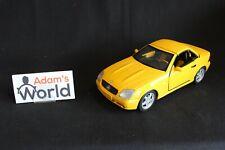 UT Model Mercedes-Benz 230 SLK 1:18 yellow / yellow interior working roof (JS)
