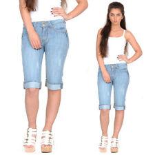 Cotton Blend 13-17 in. Inseam Shorts for Women