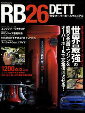 [BOOK] NISSAN RB26DETT perfect overhaul manual Skyline R34 GT-R Nismo RB Japan