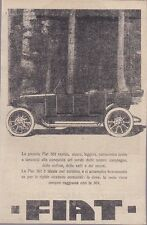 FIAT 501 auto pubblicità originale 1917 werbung advertising