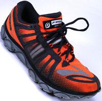 Brooks Pure Flow Athletic Running Training Shoes Mens Size 8.5 Orange Black