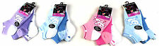 6 Pairs Girls Kids Cotton Rich Trainer Socks Liners Ankle Socks all size
