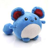 "Cute Pokemon Marill Plush Soft Toy 4"" Game Figure Stuffed Animal Doll Gifts"