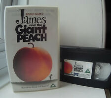 James and the Giant Peach (Roald Dahl's) VHS Video