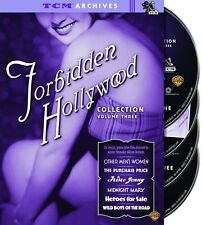 FORBIDDEN HOLLYWOOD COLLECTION Vol 3 DVD Box TCM ARCHIVE Pre-Code BONUS FEATURES