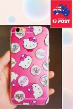 NEW Cute Hello Kitty Cartoon Slim Soft Silicone Case Cover IPhone 6 6s FAST SHIP