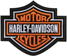 "HARLEY-DAVIDSON Patches/emblème "" bar + Shield "" Patch très grand emb302386"