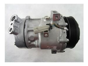 For Saab 9-3 9-3X 2005-2009 A/C Compressor w/ Clutch Sanden New