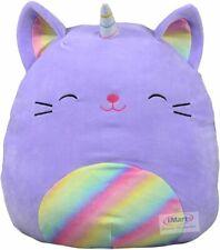 Kellytoy 16″ SQUISHMALLOWS Purple Rainbow Caticorn Squishy Large Soft Plush Toy