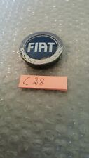 Fiat 50mm Alloy wheel centre caps Genuine Fiat Punto