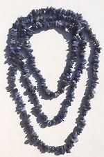 "Sky Blue Apatite Necklace. 35"" Single Strand. Can Be Worn As Bracelet. Brand New"