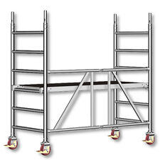 Layher Fahrgerüst Zifa 620 faltbar Alu | Rollrüstung | Rollgerüst | Gerüst
