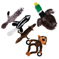 5 PCS Pet Dog Puppy Squeaky Duck Squeaker Plush Animal Sound Play Chew Toy