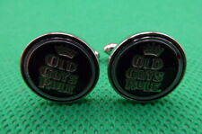 , Silver Toned , (C1590) Cufflinks , Old Guys Rule