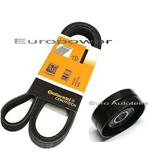 V-Ribbed Belts + Tension Pulley Opel-Vauxhall-Astra G-H-Combo-Corsa 1.7 CDTI 16V