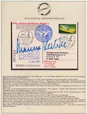 Hanna Reitsch Original-Autogramm, original signed,- Flugzeuge, Raumfahrt, Space