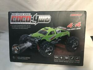 US SELLER SUBOTECH BG1510B 1:24 2.4G COCO 4WD RTR High Speed  RC Car Truggy