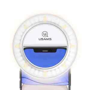 Mini Selfie Ring Light USB chargeable adjustable colour temperature & brightness