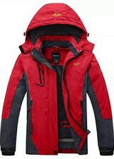 Women Ski Jacket Winter  Windproof Warm Fabric Coat Stretchable Cuffs medium