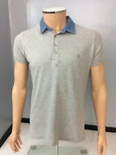Diesel Mens Polo T Shirt, Size Small, S, Grey, Vgc