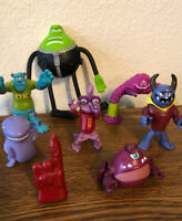 Monsters Inc Sulley and more , Disney Playset LOT of 8 Figures