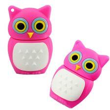 USB Stick 16GB Speicherstick Geschenk Design Eule Vogel süß mini Owl pink rosa
