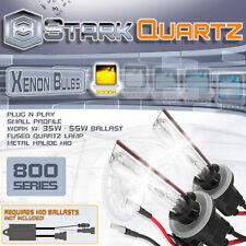 35W / 55W Xenon HID Bulbs Fog Light 3000K Yellow - 880 881 899 Replacement Pair