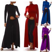 Maglia Manica Lunga Corta Davanti Donna Woman Long Sleeve T-Shirt Top 561056 P