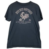 Boo Boo Records Rooster Logo Tee Shirt Women's Size Medium