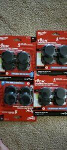 Milwaukee TICK Tool and Equipment Tracker48-21-2004 ( 4 pack bundle 16 Ticks)