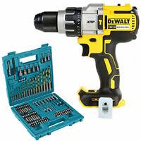 Dewalt DCD996 18V Brushless Combi Drill + B-49373 75Pcs Drill & Screwdriver Set