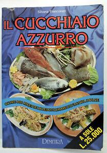 IL CUCCHIAIO AZZURRO LIBRO ITALIANO FRX 73344
