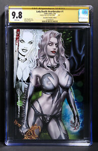 Lady Death: Heartbreaker #1 NAUGHTY EDITION CGC 9.8 SS Remarked Greg Horn Art