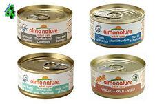 48 scatolette ALMO NATURE 70 gr alimento umido completo per gatti gusti a scelta