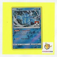 Pokemon Card Rev Holo Regice 28/111 League Promo