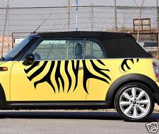 Car Zebra Stripe Animal 71'' for MINI F56 R53 Vinyl Door Side Motor Sticker ZC12