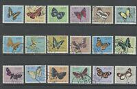 Portuguese Mozambique   1953   Butterflies Complete   Used