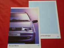 VW Sharan CL GL Carat Prospekt von 1995