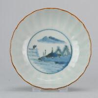 Antique high quality 18 / 19th c Japanese Porcelain Bowl Arita Edo Japan