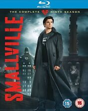 SMALLVILLE : SERIES - 9 (2010) COMPLETE NINTH SEASON ERIC JOHNSON NEW UK BLU-RAY