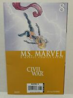 Ms Marvel CIVIL WAR (Marvel COMICS) (2006) # 8 GREAT CONDITION ~FREE SHIPPING~