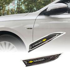Chrome Metal Car Trunk Side Fenders Door Emblem Badge Sticker For CHEVROLET