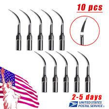 10 Dental Ultrasonic Scaler Perio Scaling Tips P1 f/ EMS WOODPECKER Handpiece sp