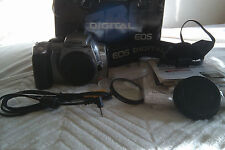 Canon EOS Digital Rebel 300D 6.3 MP Digital SLR Camera Silver Body Only- Sold as