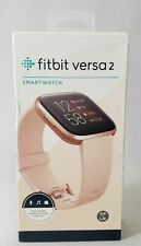 Fitbit Versa 2 Activity Tracker - Petal/Copper Rose