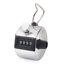 HAND HELD TALLY COUNTER GOLF MANUAL NUMBER COUNTING PALM CLICKER 4 DIGIT Tasbeeh
