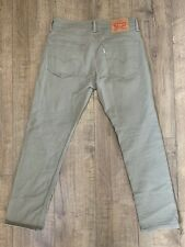 Levi's 511 Levi Strauss Brown Beige Jeans Chinos Trousers | W32 L30 Slim fit VGC